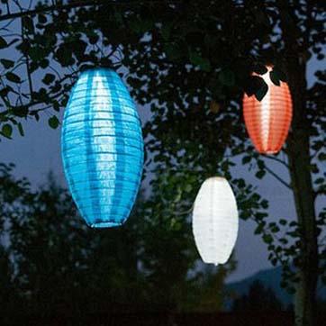 Lantern Tseineaidd Powered Powered